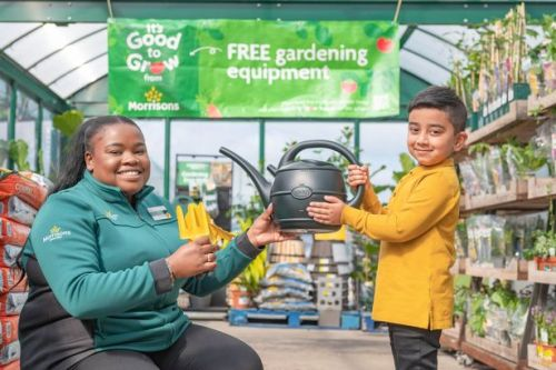 Morrisons gives schools free gardening equipment to help kids reconnect with nature and healthy food