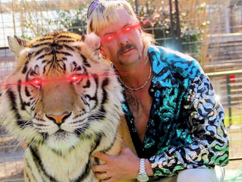 Joe Exotic from 'Tiger King' is selling his first NFT collection from his prison cell