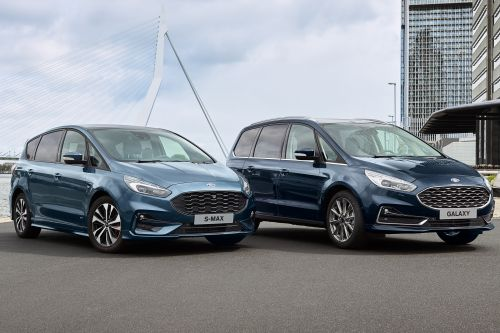 New Ford S-MAX and Galaxy mild-hybrids set for 2020 release