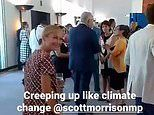 Australian of the Year Grace Tame takes sly dig at Scott Morrison over climate change