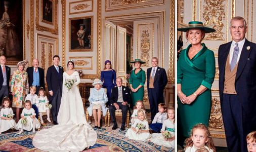 Sarah Ferguson and Prince Andrew look close in official Royal Wedding picture