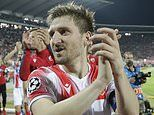 Champions League play-off review: Red Star Belgrade, Dinamo Zagreb and Olympiacos reach group stages