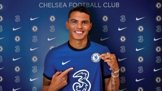 Thiago Silva could make Chelsea debut against Barnsley