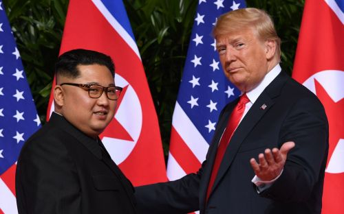 Kim Jong-un orders preparations for second summit after 'great' letter from Donald Trump