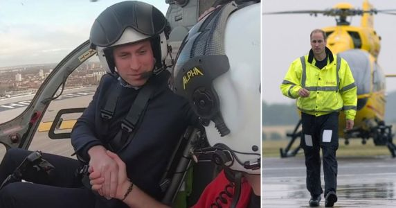 Prince William 'wants to return as air ambulance pilot' to support the NHS