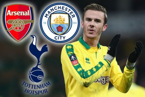 Arsenal, Tottenham and Manchester City all eyeing summer transfer of Norwich rising star James Maddison