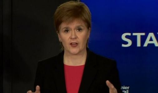 Nicola Sturgeon announces first day of single figure death toll in Scotland since March 27