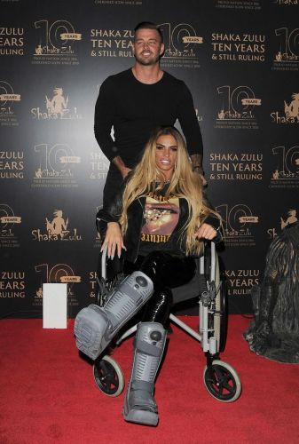 Katie Price Shares Graphic Images Of Her Broken Feet After She's Accused Of Faking Severity Of Injuries