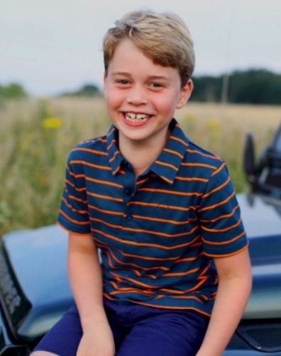 A spitting image of his dad - Prince George celebrates eighth birthday with new photo