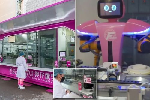 Robots make 36 meals every 15 minutes for doctors treating coronavirus victims