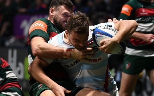 Leicester show signs of recovery inChampions Cup defeat atRacing 92