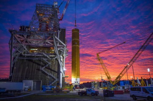 Watch live video of NASA test-firing the world's most powerful rocket stage for 8 minutes