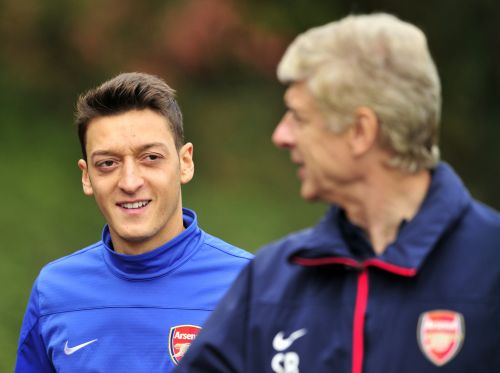 Arsene Wenger says Mikel Arteta and Arsenal are making a mistake over 'super talent' Mesut Ozil