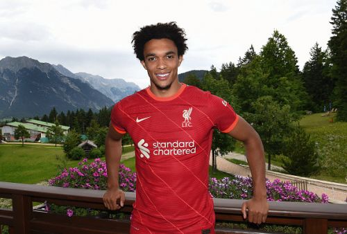 Trent Alexander-Arnold 'proud' and 'honoured' after signing new long-term Liverpool contract