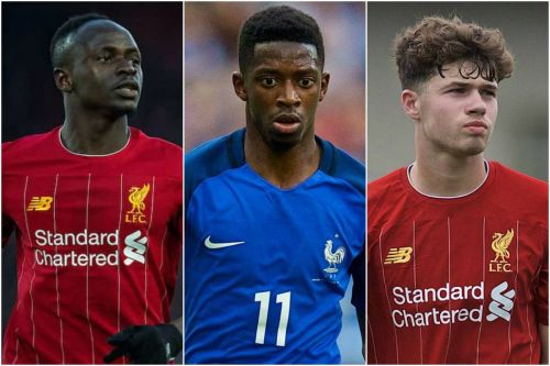 Reds to face City midweek & Dembele loan rumours - Liverpool FC Roundup