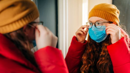 How to stop your glasses fogging up when wearing a face mask