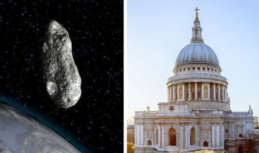 NASA asteroid tracker: A 721FT asteroid is barreling towards Earth at more than 30,000MPH