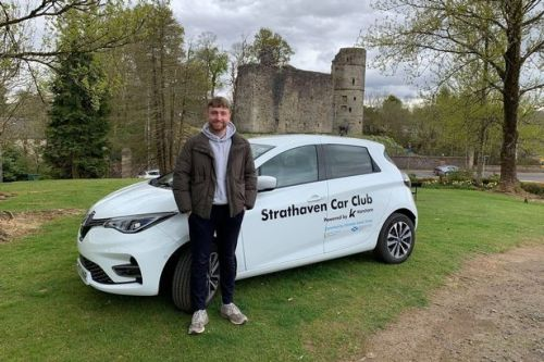 Strathaven community car share scheme revving up to hit the road