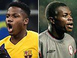 Barcelona starlet Ansu Fati becomes youngest-ever goalscorer in Champions League history