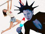 Bella Hadid channels Lady Liberty for glamorous new Alexander Wang campaign
