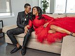 Niecy Nash and her wife Jessica Betts get glam then crafty creating their Christmas card