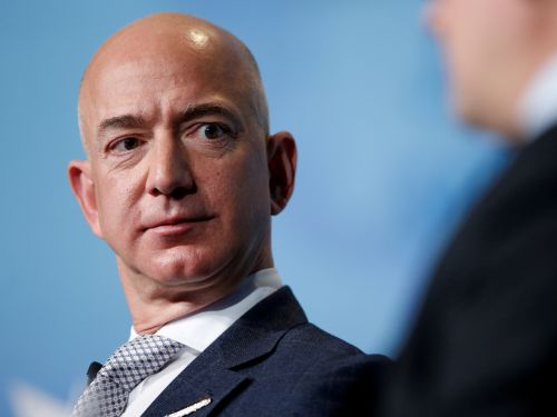 An Amazon worker at the warehouse Jeff Bezos visited this week has reportedly tested positive for COVID-19