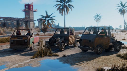 Rust players find ways to break everything, and now they have cars