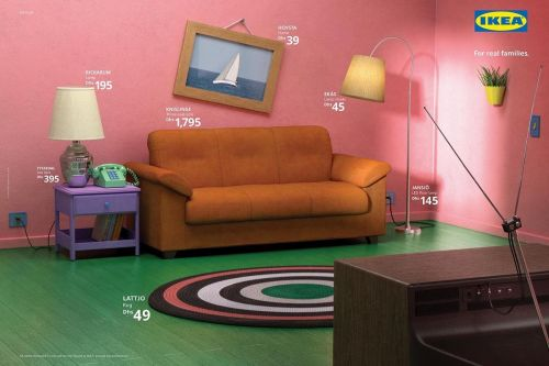 IKEA Teaches You How To Recreate Classic Living Rooms From Popular TV Shows
