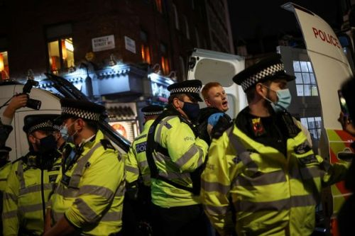 Police chief admits force 'not likely' to break up 'minor Christmas parties'