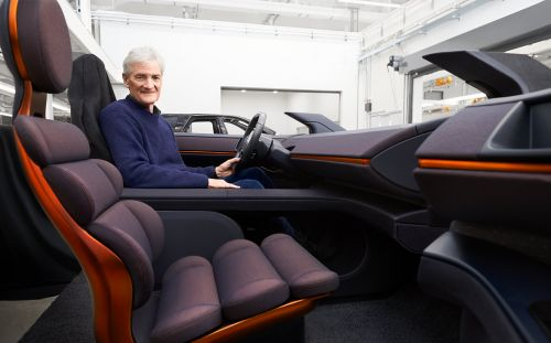 First proper look at James Dyson's failed electric car as entrepreneur tops Sunday Times Rich List for first time