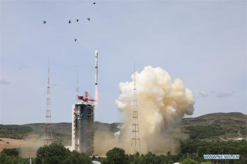 Chinese launches loft satellites to study space environment and observe Earth