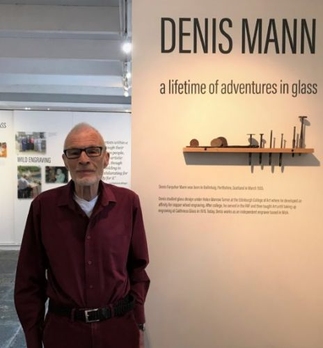 Exhibition of glass craftsman - designer of coveted Mastermind trophy - on display in north studio
