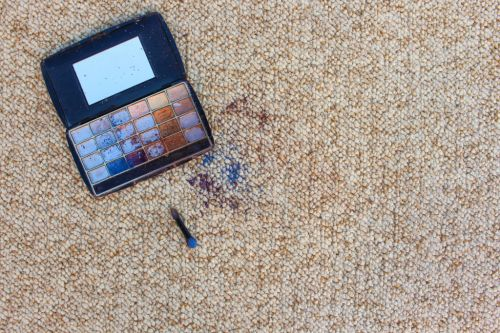 How to clean foundation and other makeup stains from your carpet