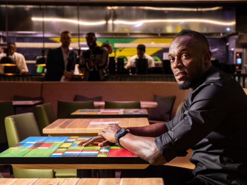 Usain Bolt Launches His First London Restaurant