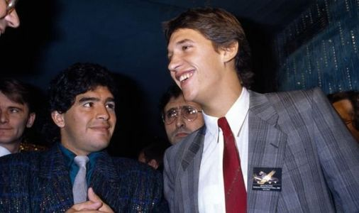 Gary Lineker speaks out on 'troubled' Diego Maradona's death 'The greatest of all time!'