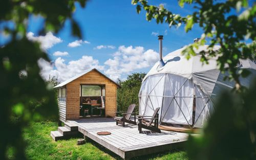 Hotel Hit Squad: Whether you call it a nature retreat, glamping resort or lifestyle brand, Fforest Farm is a superb place to stay