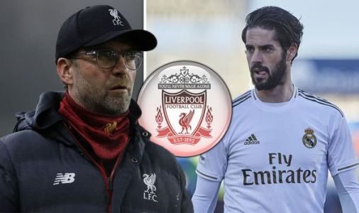 Liverpool target Isco as Real Madrid hike up transfer price after offering ace to Chelsea