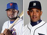 Octavio Dotel is arrested on drugs charges in Dominican Republic's as cops hunt for Luis Castillo