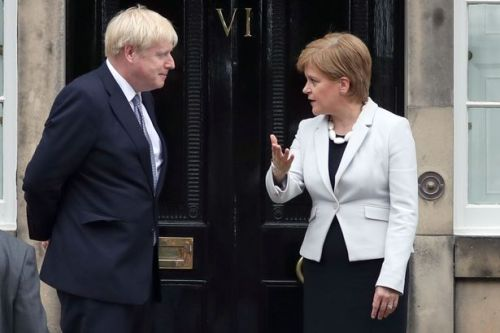 "Nicola Sturgeon blasts ""shambolic"" Boris Johnson over air bridge travel plans"