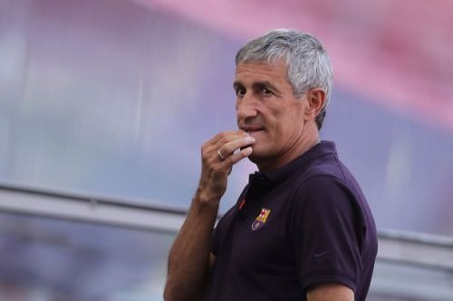 Quique Setien 'will be sacked' after Barcelona's defeat to Bayern, reports claim