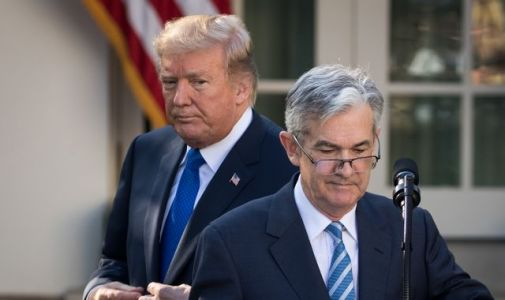 Trump escalates war of words with central bank boss