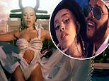 Doja Cat gets flirty withThe Weeknd in the music video for their song You Right off her new album