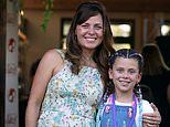 I'm a Celebrity star Toni Pearen makes a rare public appearance with her daughter