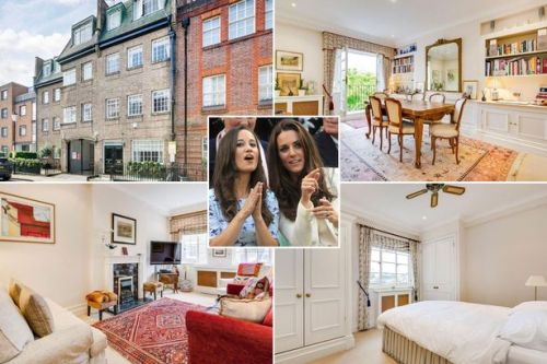 Inside Kate Middleton's £2m home she shared with Pippa before marrying William