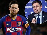 Lionel Messi confirms Barcelona players WILL take 70 per cent wage cut but hits out at club AGAIN