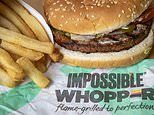 Burger King sued for cooking their Impossible Whopper on the same grill as regular meat patties