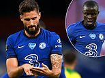 Chelsea's Olivier Giroud reveals celebration was a nod towards 'playing scrabble with N'Golo Kante'