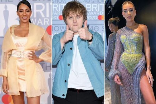 Lewis Capaldi, Tallia Storm and Tom Walker lead Brits red carpet arrivals
