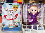 Frozen's Elsa and a Harry Potter Potter bus make the top 12 Dream Toys this Christmas