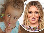 Hilary Duff shares adorable video of daughter Banks, two, doing her own makeup: 'Banks' Beauty Shop'